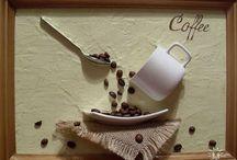 Kávébabból képek