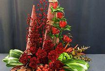 Kerstbloemstukken / groendecoraties