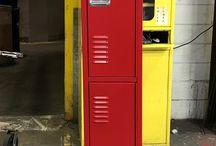 Albany SD - Kelso, WA #Lockers #DeBourgh / #Corregidoor #CodeRed #SentryThreeLatch #LouveredVentilation #PianoHinge #ClosedBase #Lockers #DeBourgh