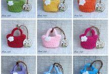 Mini örgü çanta