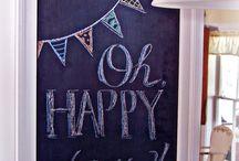 Fun with chalk