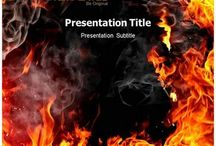 Fire PowerPoint Templates