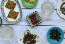 """Mother's Day Snack Attack / May 7-14: We believe that what we feed our kids can have a global impact. That's why we've asked mom bloggers to photograph their kids enjoying a Fair Trade snacks.  From bananas to granola bars, the options are endless!  Browse through the photos and tell us your favorite by """"liking"""" or re-pinning!"""