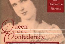 Lucy Holcombe and Francis Pickens / Voici la galerie des personnages de mon nouveau roman, basé sur des faits historiques et, dans son contexte historique, d'hommes er de femmes ayant existé.