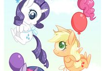 My Little Pony / I love these characters