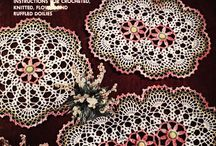 Virkkauslehdet - Crochet Magazines / crochet doilies, table runners, blankets, pillows, squares, mandalas, motifs...