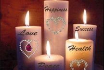 CANDLES, CANDLES  & MORE CANDLES / by Carol Ann Napolitano