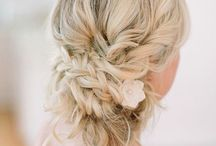 wedding/hair