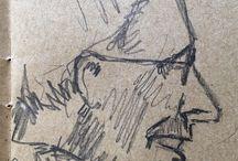 my work Loud nasal laugh #pencil #sketch #france www.coleajeremy.com