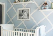 Blue Baby Nursery / by BabyBox.com Luxury Baby Gifts and Furnishings