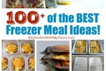 100+ of the Best Freezer Meal Ideas
