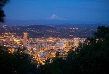 Portland, Oregon / Enjoying the beauty that is all around us in our home town and state.