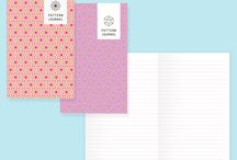 Stationery design / Personal and professional portfolio: stationery design and product development of notebooks, colorful illustration and pattern. Designed in Italy