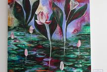 Intuitive Painting / by Carmen Whitehead Designs