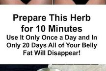 herbs for excess fat belly