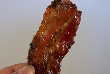 {food} REAL Bacon Dishes / Many of these are linked to step-by-step recipes, just click-through the image! See also the related {food} boards nearby.