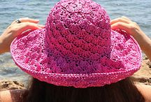 crochet summer hat patterm instant download PDF fl.......