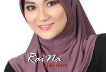 RaiNa Hijab Store / Aneka bergo instan untuk Muslimah