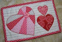 Valentine's Day quilting ideas