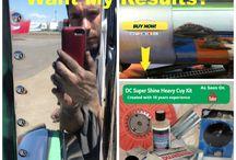 Aluminum Polishing Kit / Our DC Super Shine Heavy Cut Aluminum Polishing Kit.