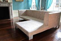 miniatury łóżka, kanapy