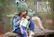 "DOLL OUTFITS / Doll Hats and Clothing Knit and Crochet Patterns by IraRott Inc. All for 18"" Dolls here. / by IraRott Inc."