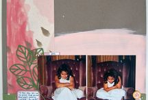 Scrapbook Layouts / A sampling of some of my scrappy artwork