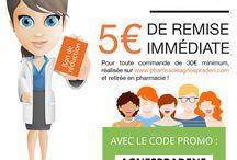 L'actualité de la Pharmacie / Retrouvez l'actualité et les événements de la pharmacie Agnès Praden et de notre site et application Click & Collect : www.pharmacieagnespraden.com