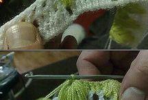 Плетение крючком