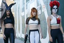 ESPALIER HALLOWEEN COSTUMES / Do you know what sucks during Halloween? Feeling uncomfortable with what you're wearing. We've always crafted activewear that feels good and looks equally amazing. Get creative this Halloween by using our pieces as costume!