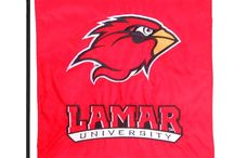 Lamar University Flags