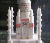 Marble Taj Mahal india