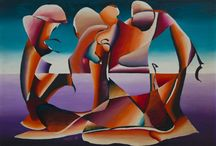Paintings of László Orosz, Gyál, Hungary / The hungarian artist László Orosz was born in 1955. Musician, drummer, painter. He has painted persistently since 1975, and built up a style and technique enhancing perspective complimented by unusual textured reliefs. Orosz creates his pictures not just to be spectaculer and technically elaborate, but also thought-provoking with the aim of inspiring us for associations.