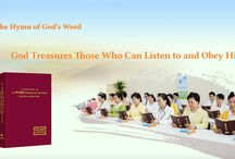 """The Hymn of God's Word """"God Treasures Those Who Can Listen to and Obey Him""""   Eastern Lightning"""