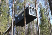 Tree Top Hotels / Stunning views