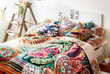 Style | Bohemian / A pop of color and handmade touches for every corner of your home.