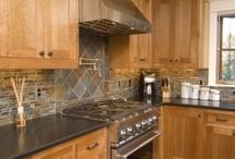Kitchen ideas / Remodel! Counters, floors, decor, table, appliances