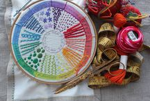 Embroidery and cross stitch patterns