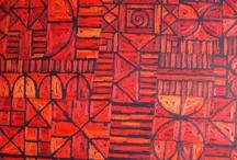 African art and patterns / Such joi de vivre