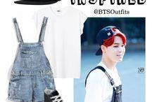 방탄소년단 inspired outfits