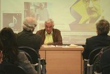 CONFERENCIAS-COLOQUIOS / Conferencias, coloquios organizadas por o en colaboración con la Biblioteca Insular de Gran Canaria.