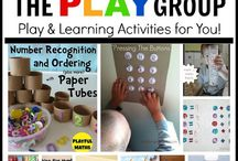Toddler Math Actvities / Math for toddlers