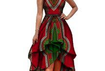 robe dégradé
