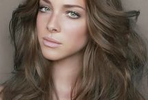 dream hair / I really want my hair looks something like this, but I guess its never possible :D