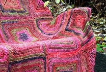 Crochet, Crochet, Crochet. / Everything crocheted, granny squares, bags, shawls, and lots more