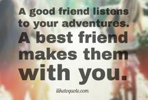 Friendship Quotes / A reflection of what is in my heart