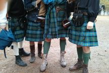 Kilted / All scottish kilts / by Michelle Orr