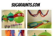 birthday party ideas / by Heather Walden