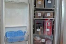 fridge organised