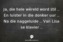 Afrikaans, my hart.